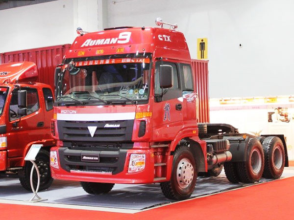 福田-歐曼CTX-9係重卡-420馬力-6X4-牽引車(輕量型)(BJ4253SMFKB-S2)