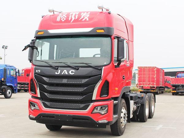 江淮-格爾發K5W重卡-350馬力-6X4牽引車