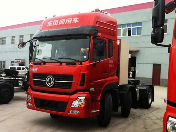 東風商用車-天龍重卡-375馬力-6X2天然氣牽引車(DFH4240A1)