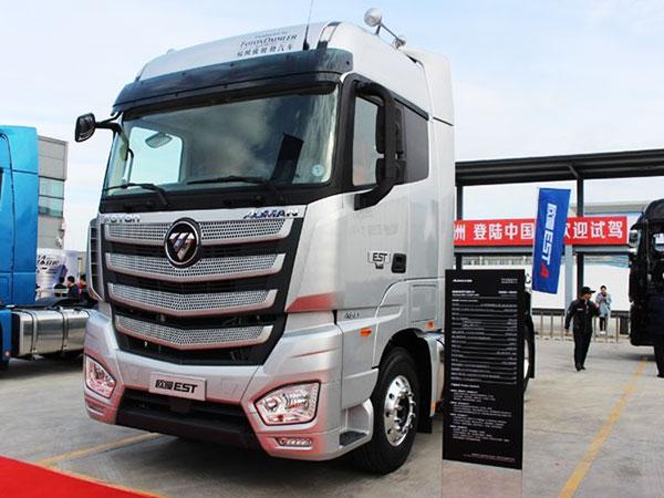 福田-歐曼EST重卡-超級卡車-460馬力-6X4牽引車