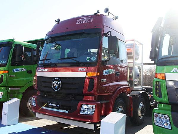 福田-歐曼ETX-5係重卡-336馬力-6X2-LNG牽引車(BJ4252SNFCB-XA)